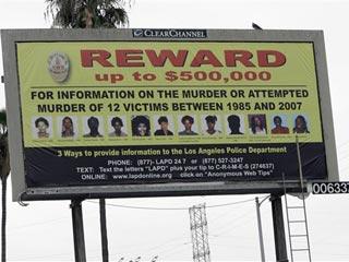 Grim Sleeper Wanted Billboard