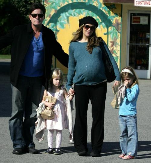 charlie sheen wife. Charlie Sheen#39;s wife