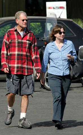 David Letterman and Wife Regina Lasko