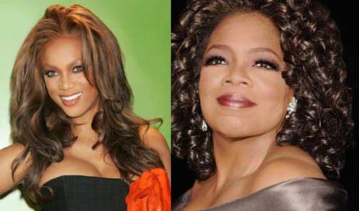 Oprah and Tyra