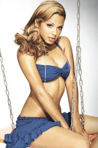 Christina Milian in a Swimsuit