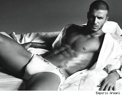 David Beckham in Underwear