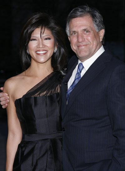 Julie Chen and Husband Les Moonves
