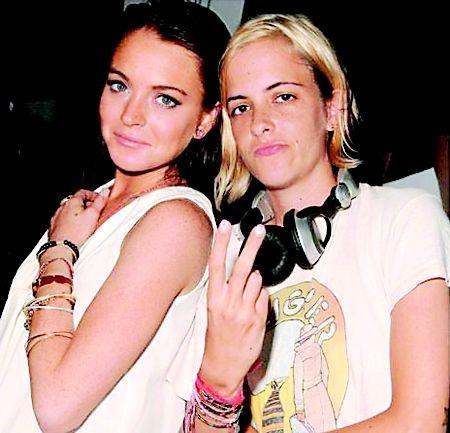 Lindsay Lohan. Why Lindsay Lohan and Samantha