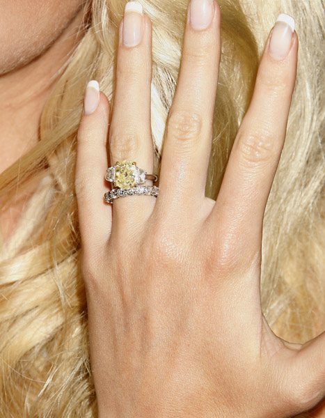 heidi montag wedding dress. Heidi Montag#39;s Wedding Ring
