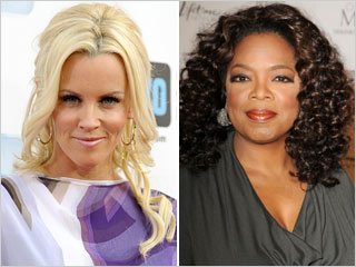 Jenny McCarthy and Oprah