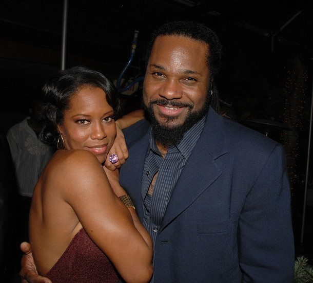 Malcolm Jamal Warner and Regina King