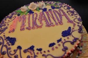 Miranda Cosgrove's 16th Birthday Cake