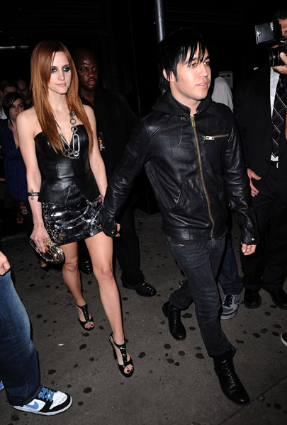 Ashlee Simpson and Pete Wentz Together