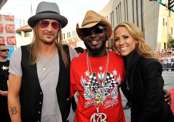 Kid Rock, T-Pain and Sherl Crow