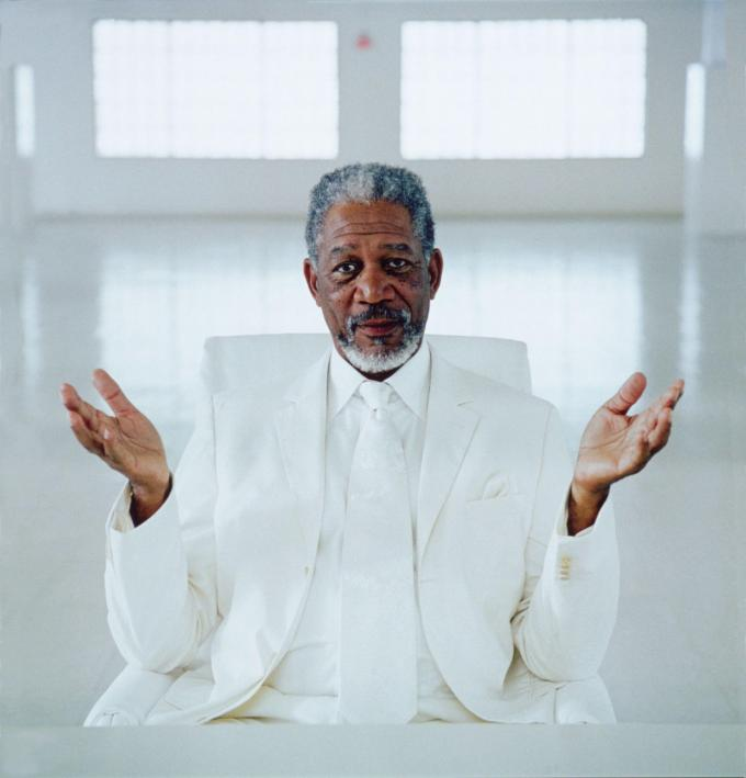 Morgan Freeman as God. Here is where you can tell thousands of people what ...
