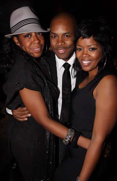 Tichina Arnold, Malinda Williams and D-Nice