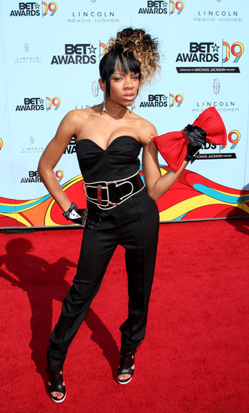 Lil Mama's Hair at 2009 BET Awards