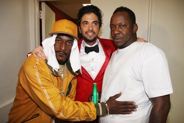 Rakim, DJ Cassidy and Bobby Brown