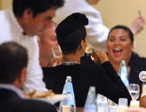 Rihanna Restaurant Sightings