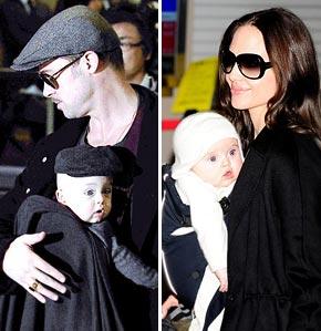 Brad Pitt and Angelina Jolie's Twins