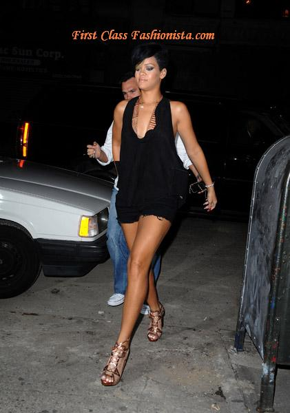 Rihanna  Shoes Manhattan