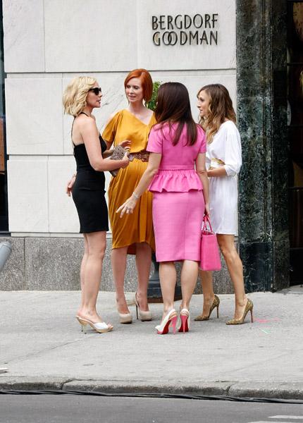 Kim Cattrall, Cynthia Nixon, Kristen Davis and Sarah Jessica Parker