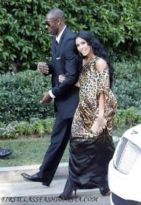 Kobe Bryant and Vanessa Bryant at Khloe Kardashian Wedding