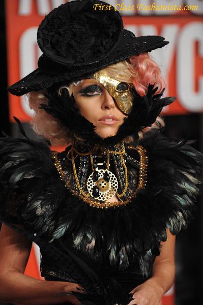 Lady Gaga at 2009 MTV VMAs