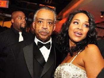 LisaRaye and Al Sharpton