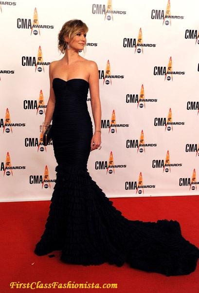 Jennifer Nettles at the 2009 Annual CMA Awards