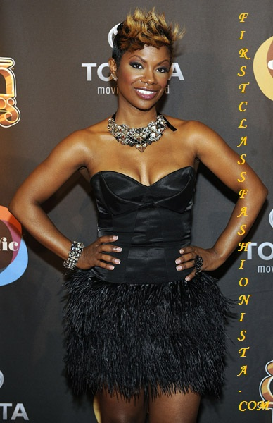 Kandi Burruss at 2009 Soul Train Awards