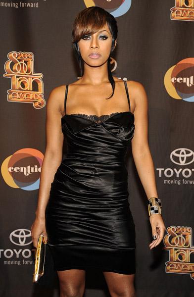 Keri Hilson at the 2009 Soul Train Awards