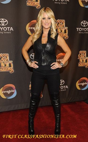 Kim Zolciak at the 2009 Soul Train Awards