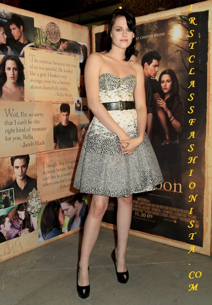 Kristen Stewart at the New Moon Regal Benefit screening
