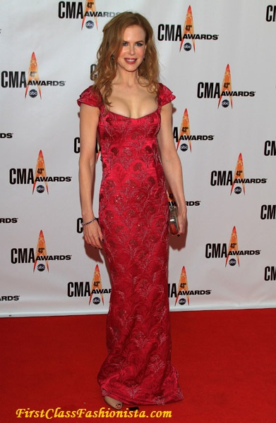 Nicole Kidman at the 43rd Annual CMA Awards