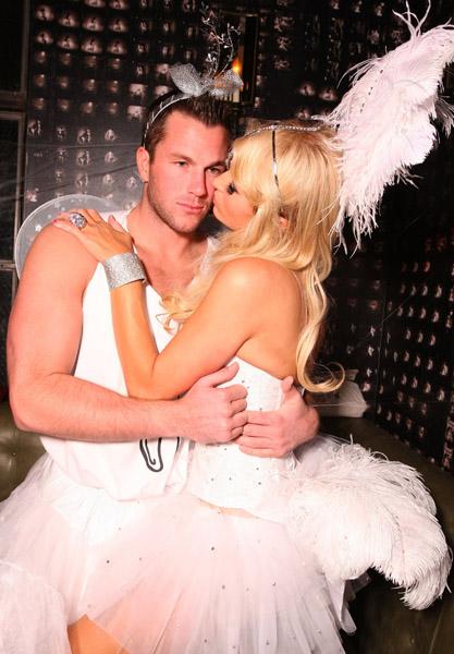 Paris Hilton and Doug Reinhardt Halloween Costume