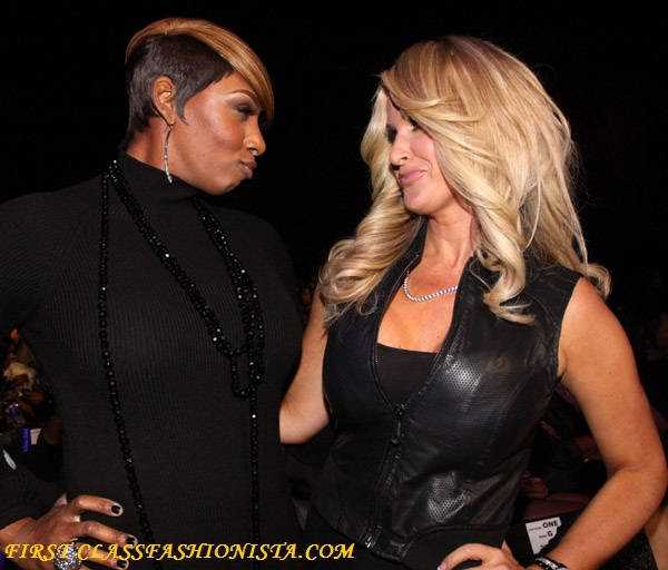 Real Housewives NeNe Leakes and Kim Zolciak at the 2009 Soul Train Awards
