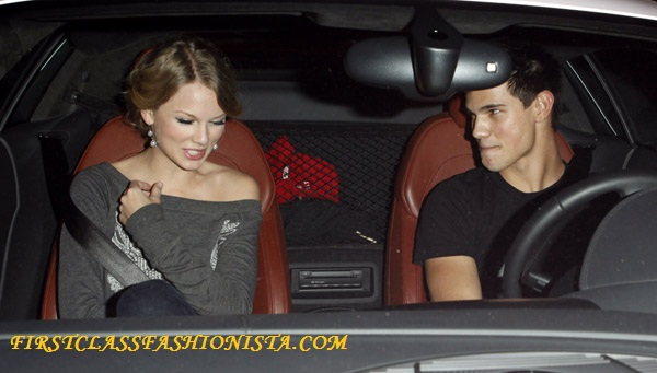 Taylor Swift and Taylor Lautner together