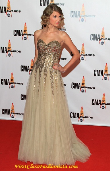 Taylor Swift at the 2009 Annual CMA Awards