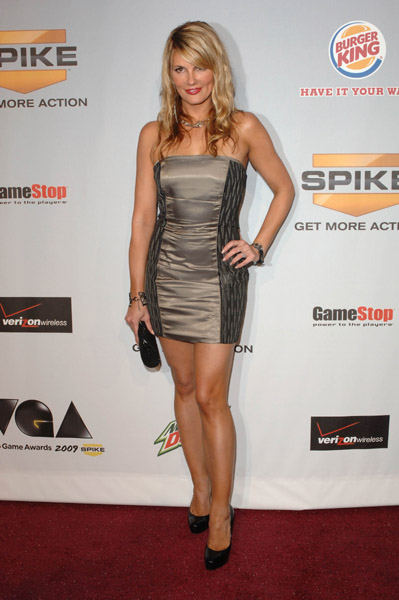 Courtney Hansen arriving at Spike TV 7th Annual Video Game Awards