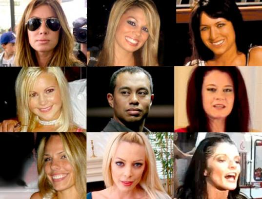 Tiger Woods and His Women