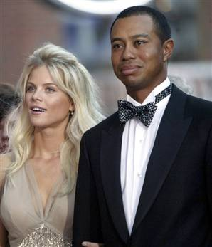 Tiger Woods and Wife Elin Nordegren