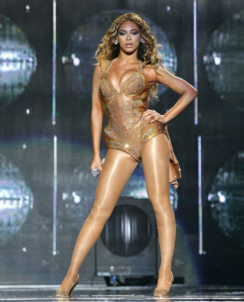 Beyonce Live Concert Pics 2009 4