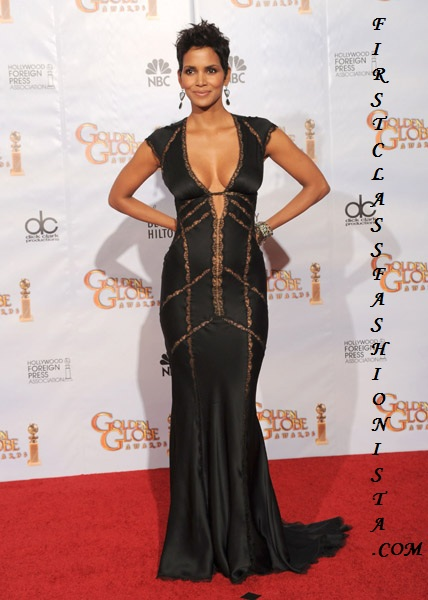 Halle Berry Golden Globe Awards Dress
