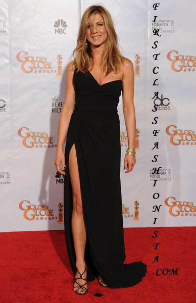 Jennifer Aniston Golden Globe Awards Dress