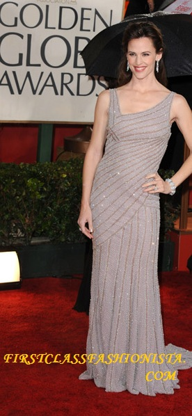 Jennifer Garner Golden Globe Dress