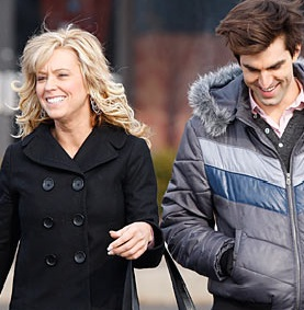 Kate Gosselin and Hairstylist Ronnie Peterson