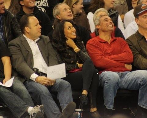 LaLa Vasquez Denver Nuggets Game Sighting