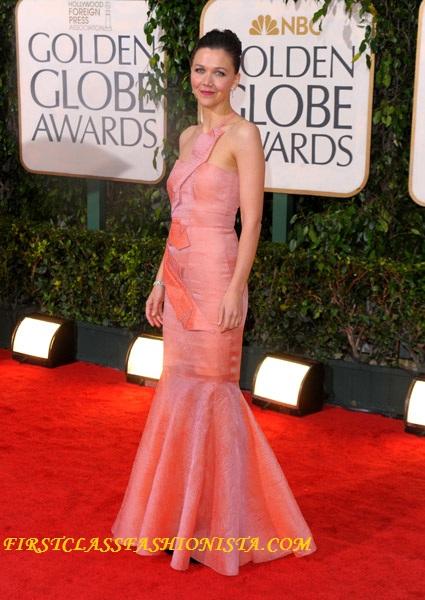 Maggie Gyllenhaal at Golden Globe Awards 2010