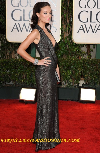 Olivia Wilde Golden Globe Dress
