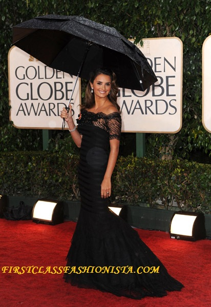 Penelope Cruz Golden Globe Dress