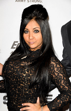jersey shore snooki fat. jersey shore girls snooki.