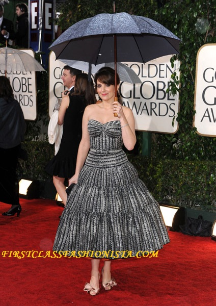 Tina Fey Golden Globe Dress