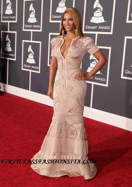Beyonce Grammy Awards Dress